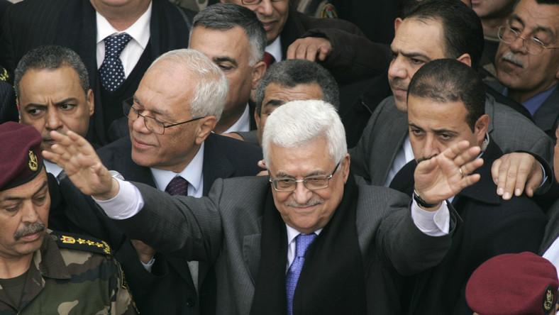 Prezydent Autonomii Palestyńskiej Mahmud Abbas
