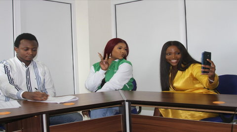 Tacha Bags Multi-Million Naira Deal with OPPO Mobile Nigeria. (Oppo Mobile)