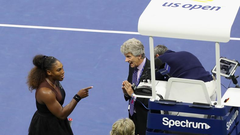 Serena Williams w finale US Open