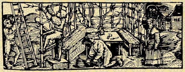 Kościół pobierał w średniowieczu od wiernych daniny, strasząc ich potępieniem na wypadek, gdyby odmawiali płacenia