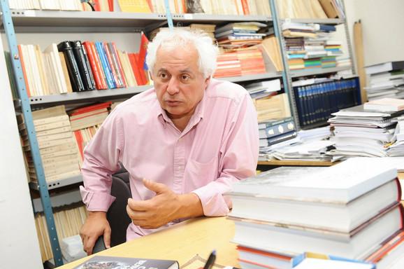 Akademik Ljubodrag Dimić čija je knjiga o Srbiji u Velikom ratu, a koju je napisao sa koleginicom dr Mirom Radojević, prevedena na engleski