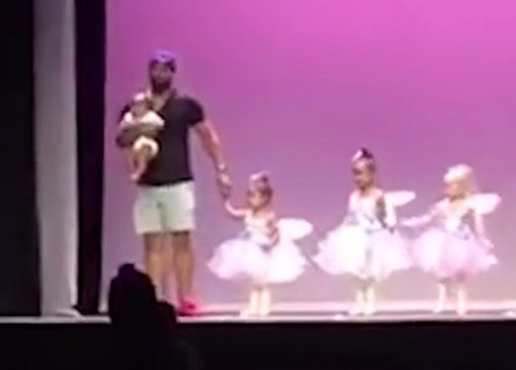 Mark Danijels otac ćerka balet predstava