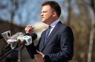 Ruch Polska 2050 Szymona Hołowni domaga się informacji o zwolnieniach urzędników