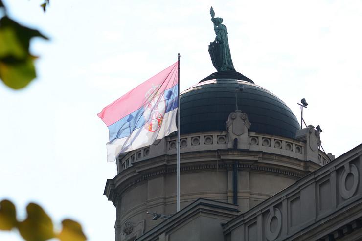 Zastave na zgradama državnih institucija