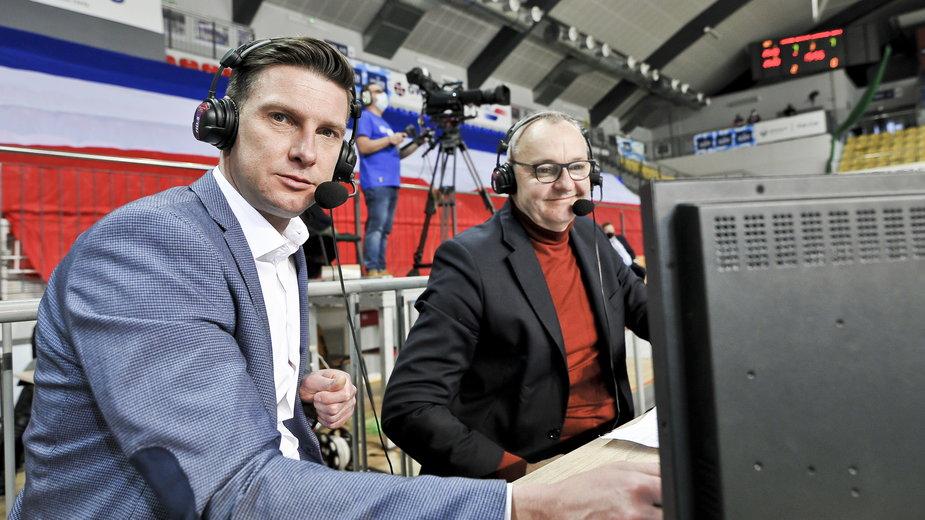 Łukasz Kadziewicz (z lewej)