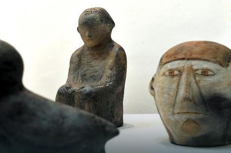 """Keramičke skulpture sa Kolonije """"Zlakusa"""" u novembru pred Užičanima"""