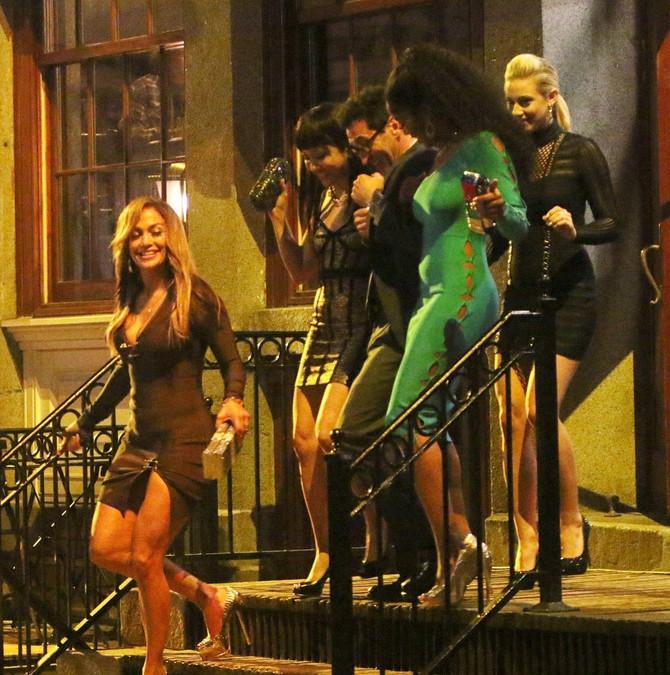 Dženifer i prijateljice na filmu