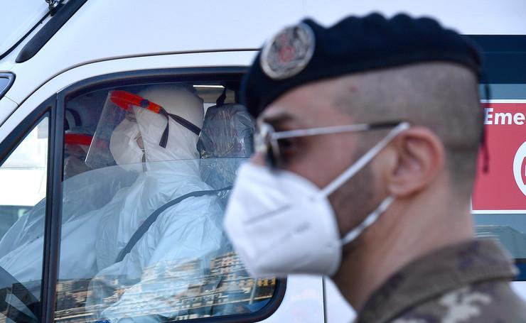 Italija, koronavirus, hitna pomoć