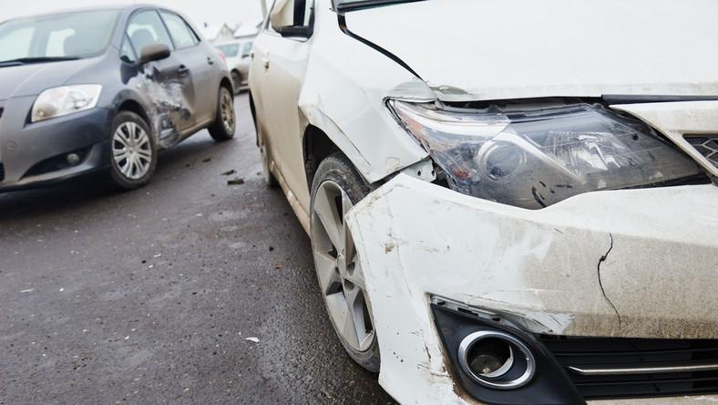 Rozbite samochody