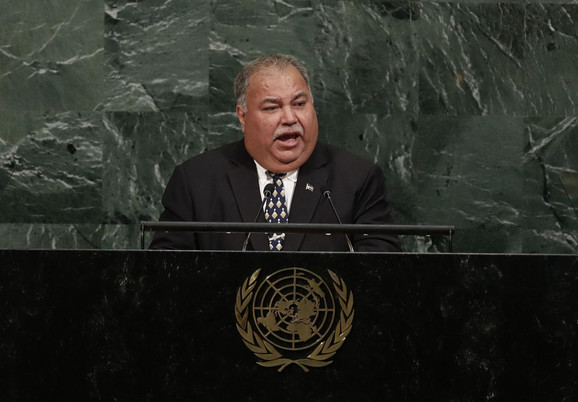 Predsednik Naurua Baron Divavezi