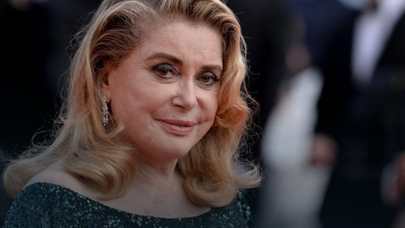 Catherine Deneuve podczas Cannes 2019