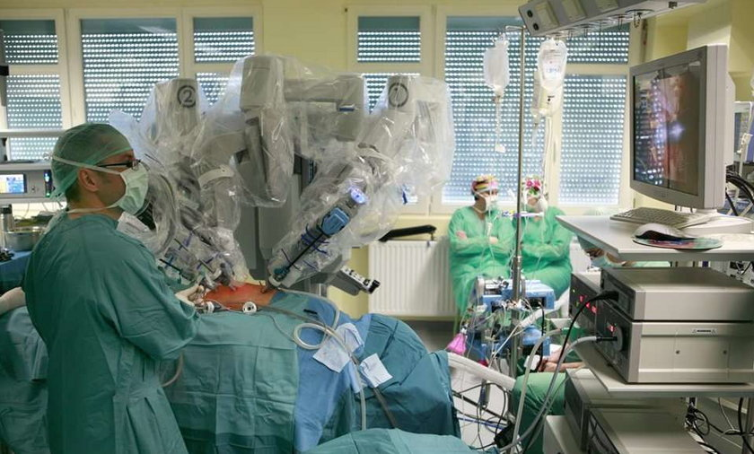 Robot ratuje przed zawałem