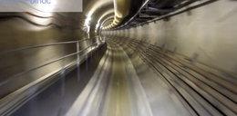 Przejazd tunelem II linii metra