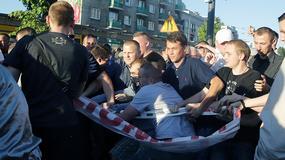 """Demonstracje przed Teatrem Powszechnym w związku ze spektaklem 'Klątwa"""""""