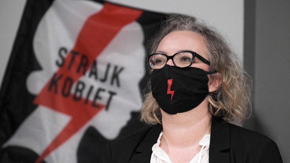 Marta Lempart, jedna z liderek Ogólnopolskiego Strajku Kobiet