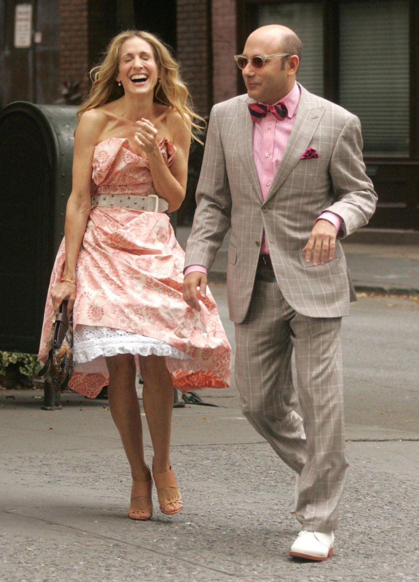 Willie Garson i Sarah Jessica Parker