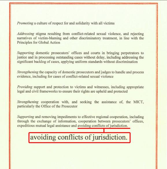 Zaključci u Deklaraciji o ratnim zločinima