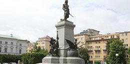 Znieważyli pomnik Tadeusza Kościuszki. Jednym z wandali jest 22-latka z Warszawy?