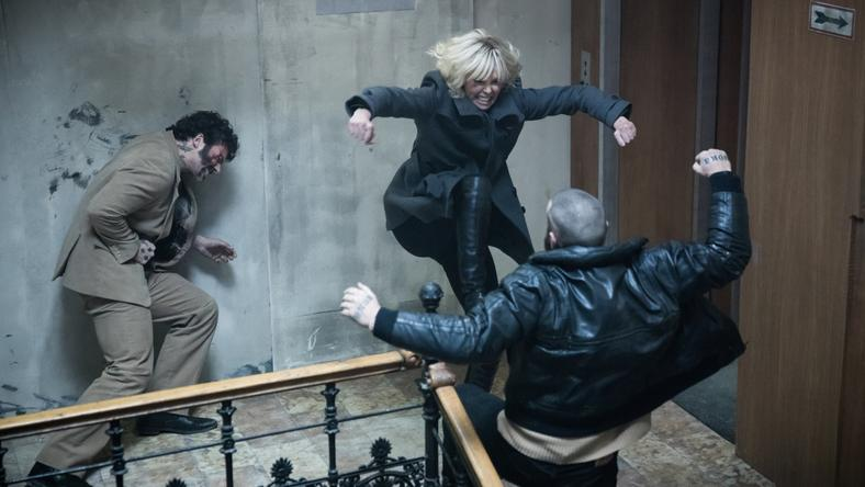 """Atomic Blonde"": kadr z filmu"