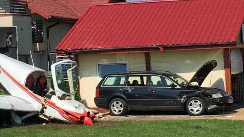 Wypadek lotniczy w Krośnie