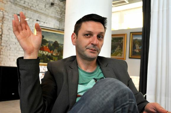 Smenjeni direktor Gradskog kulturnog centra Boris Todorović