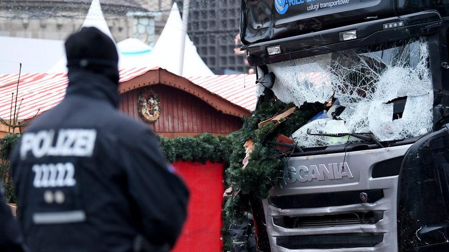 Terrorysta do ataku wykorzystał polską ciężarówkę