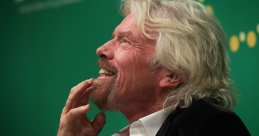 Richarda Bransona inspirują zarówno postacie historyczne, jak i współcześni liderzy biznesu