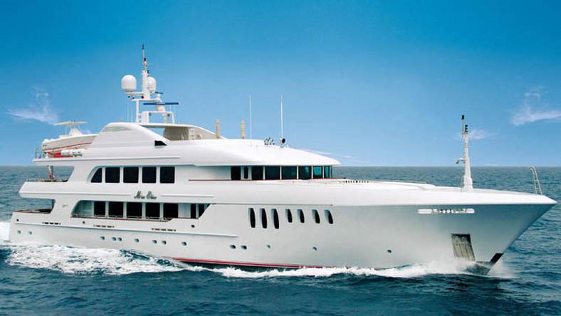 Wynajęcie jachtu na tydzień kosztuje 420 tys. dolarów