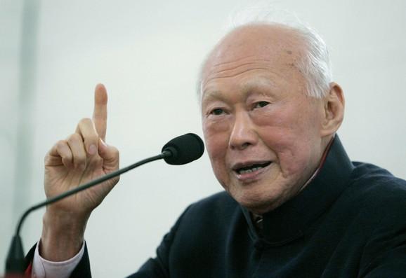 On ima sve zasluge za današnji lagodan život u Sungapuru:Li Kuan Ju