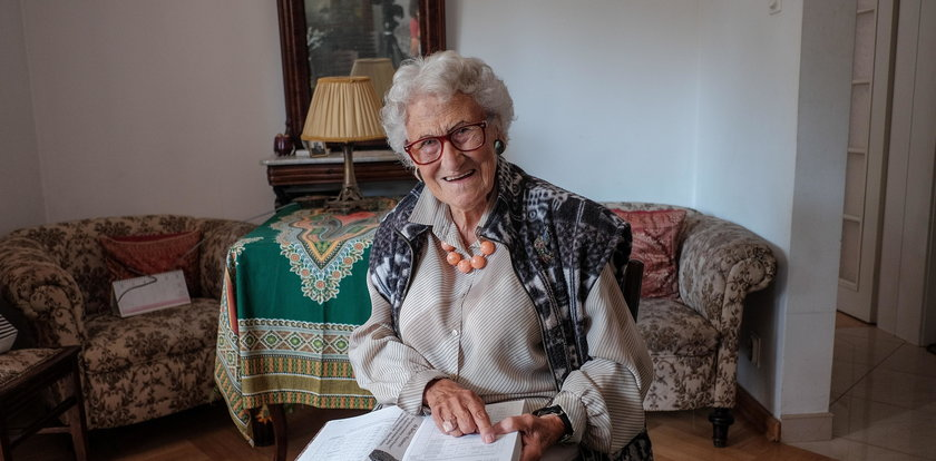"""Nie żyje łączniczka """"Zośki"""" z """"Kamieni na szaniec"""". Danuta Rossman miała 96 lat"""