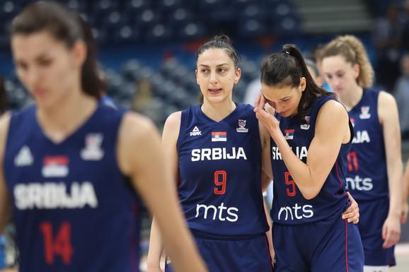 Tuga košarkašica Srbije