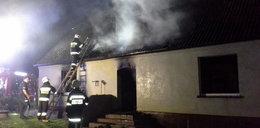 Tragiczny pożar domu. Zginął mężczyzna