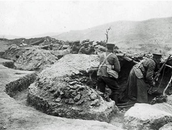 Irska vojska kod Kosturina 1915.