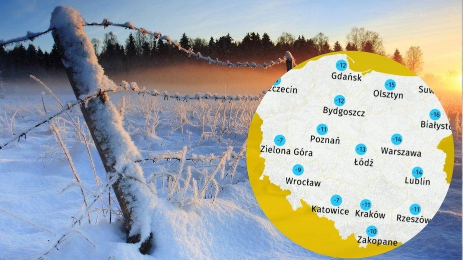 Prognoza pogody dla Polski. Jaka pogoda w niedzielę 17 stycznia 2021?