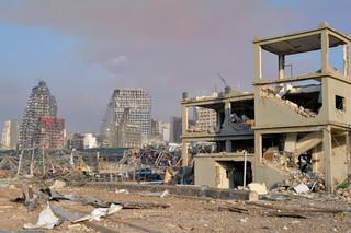 Eksplozja zniszczyła główny magazyn zboża w Libanie. Zapasy wystarczą na mniej niż miesiąc