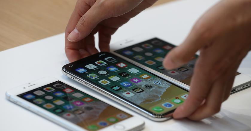 Apple zaprezentował nowe iPhone'y - 8, 8s oraz jubileuszowy X (ten). Cena tego ostatniego jest zaporowa