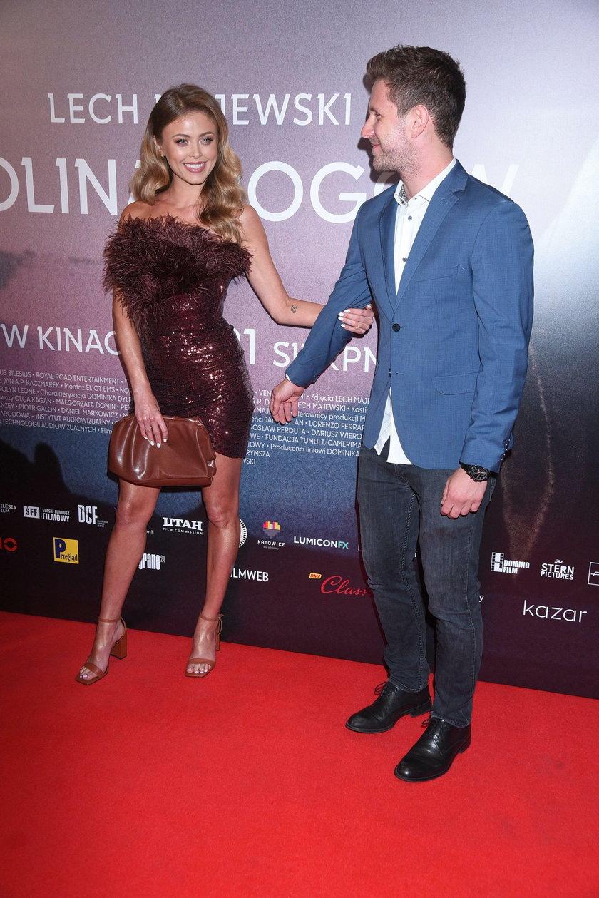Antoni Królikowski i Joanna Opozda