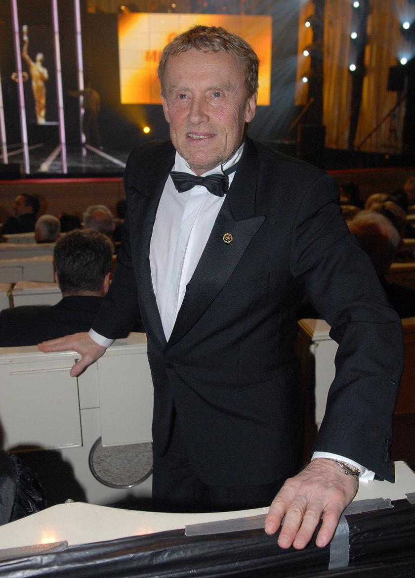 Daniel Olbrychski na imprezie