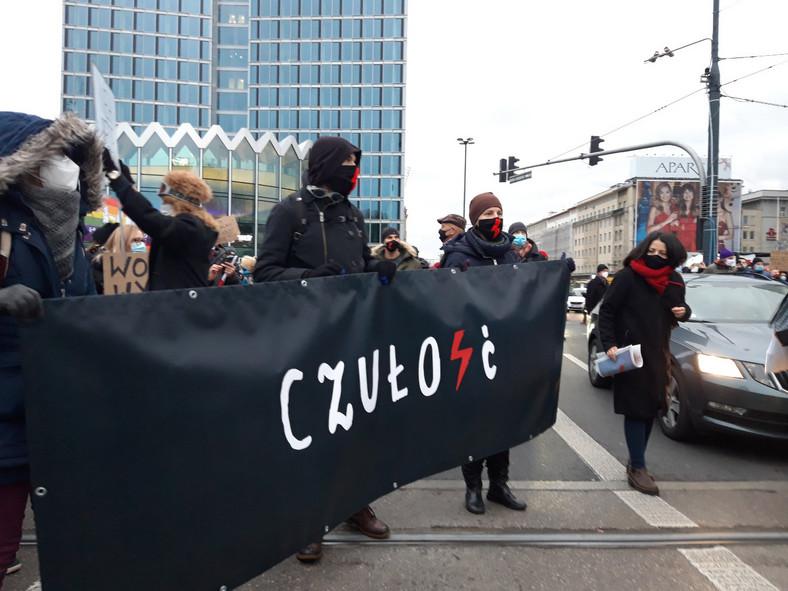 Strajk Kobiet Warszawa 28 listopada Fot. Maciej Suchorabski