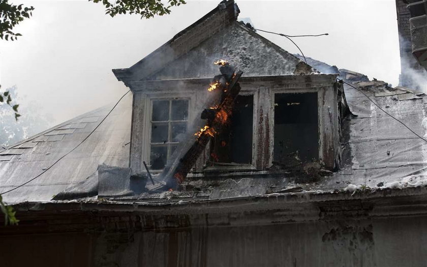 Pożar zniszczył pałac Wilhelma