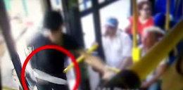Brutalny atak w krakowskim autobusie. Wszystko nagrała kamera