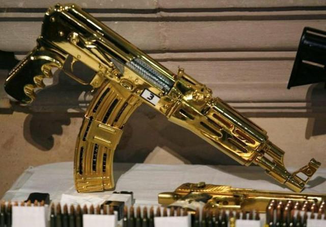 Većina oružja nikada nije korišćena i čuvana je samo zbog kolekcionarske vrednosti