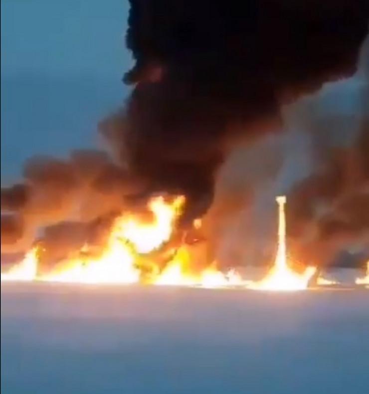 Sibir naftovod požar