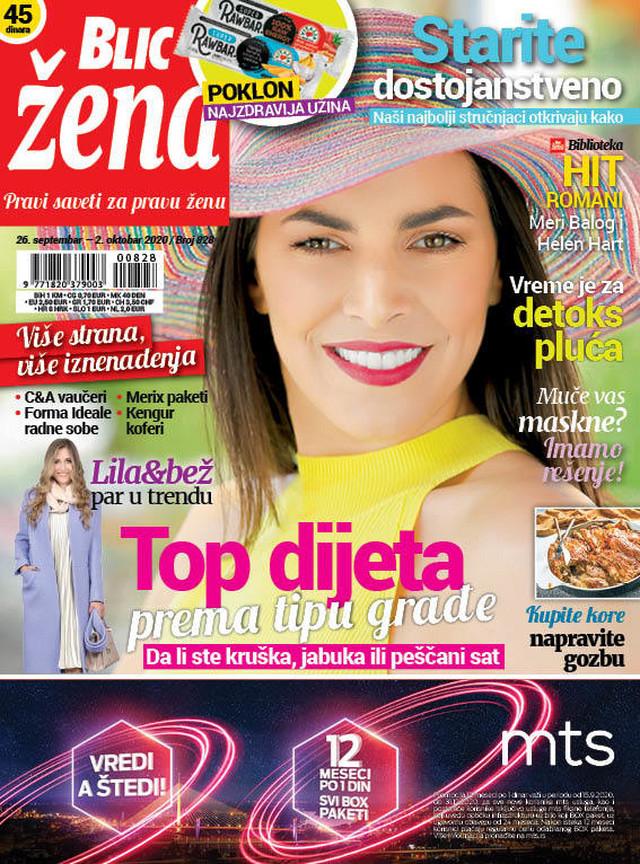 Blic Žena naslovna 26.09.