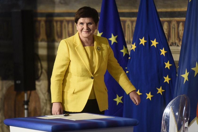 Wielkie wyróżnienie dla premier Beaty Szydło w Krynicy!