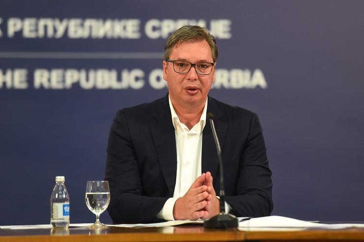 Aleksandar Vučić, obraćanje naciji, 7. jul