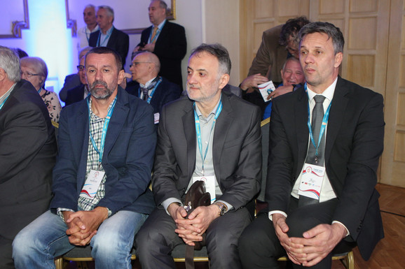 Bogdan Obradović, Zoran Gajić i Vladimir Batez