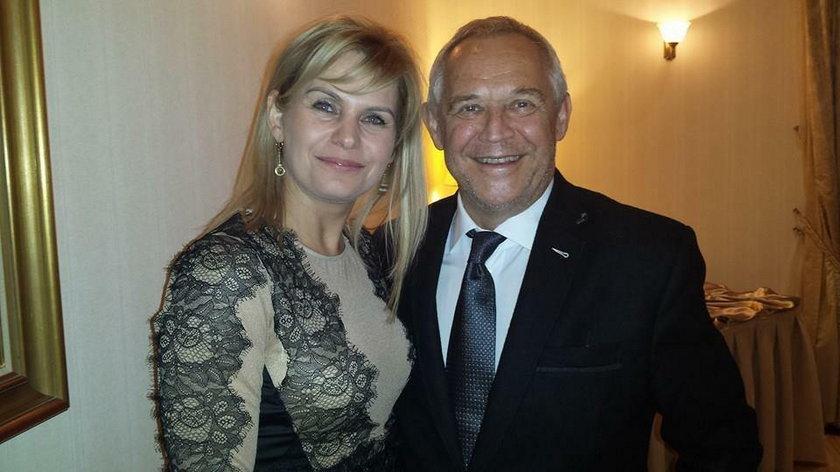Irmina Ochenkowska z Markiem Kondratem