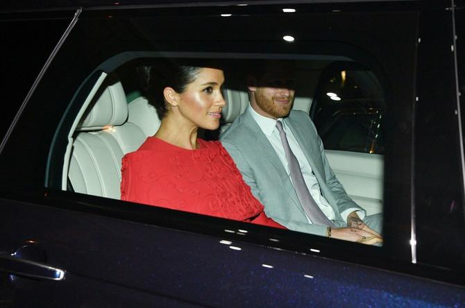 Megan Markl i princ Hari u februaru ove godine u Monaku