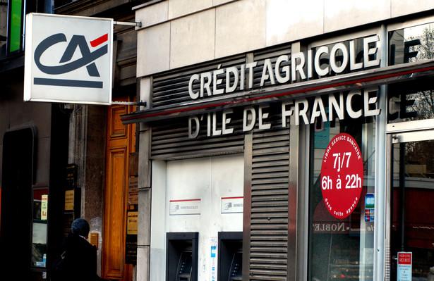Bank Credit Agricole zwolni ponad 2300 osób